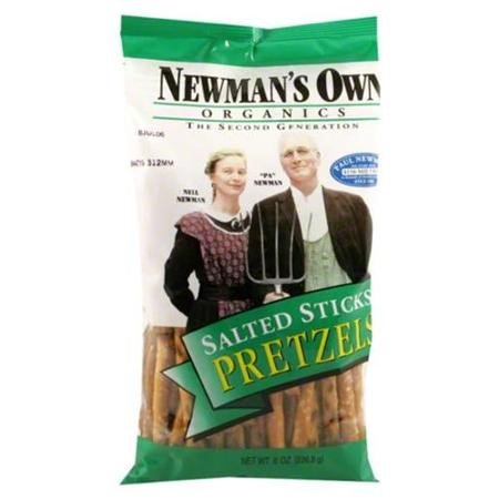 Newman's Own Organics Salted Pretzel Sticks, 8.0 OZ