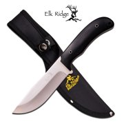 Elk Ridge Fixed Blade Pakkawood Handles with Lashing Holes