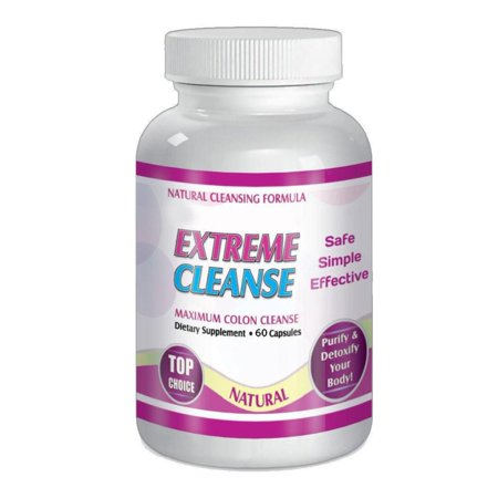 Maximum Diet Formula Extreme Detox Cleansing Diet Weight Loss System Pills