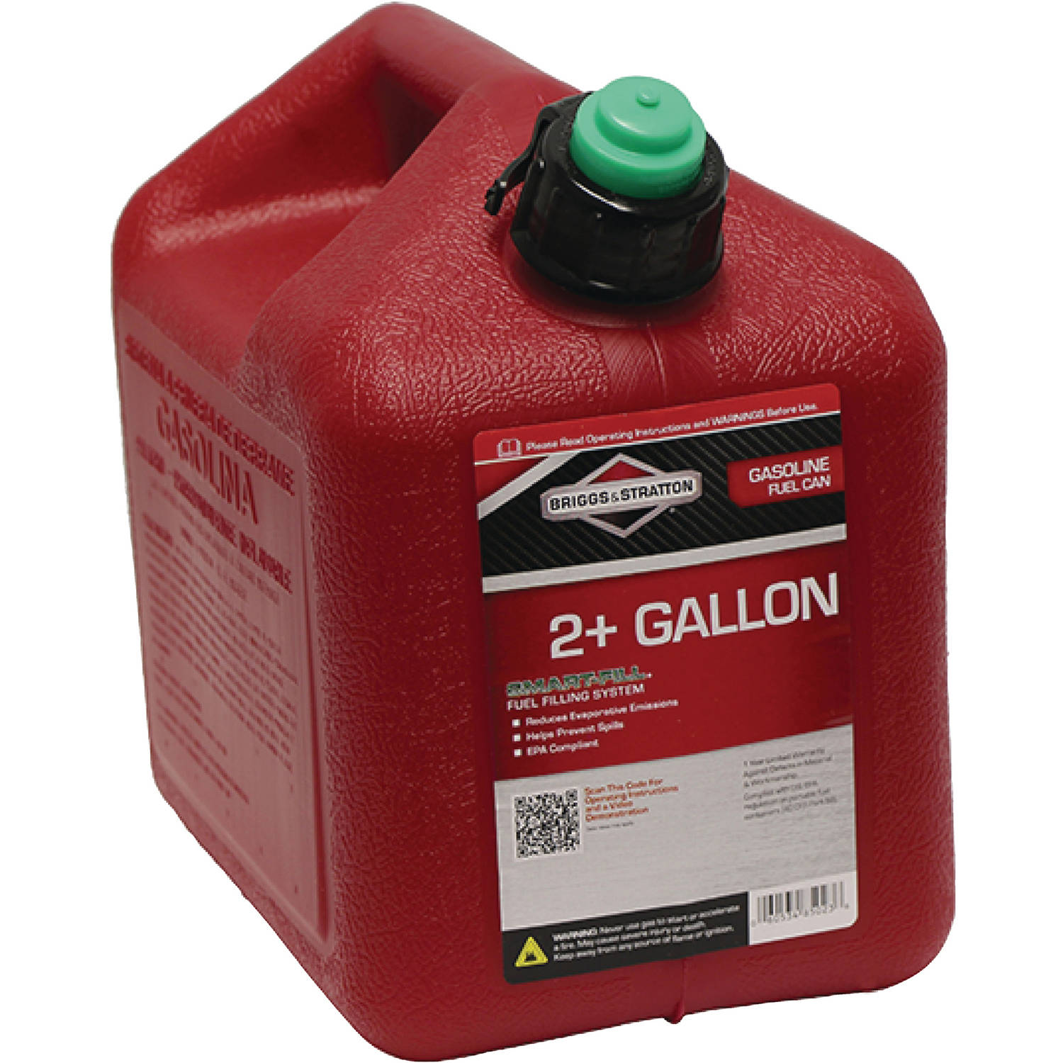 Briggs and Stratton CARB Gas Can, Red