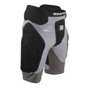 Empire Paintball Neoskin Slider Shorts - Black/Grey - XL