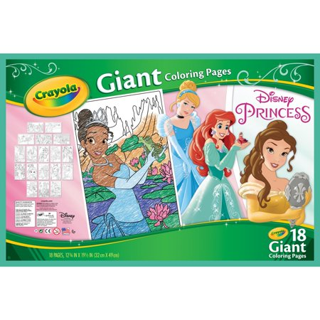 Crayola Disney Princess Coloring Pages, Giant Coloring Pages, 18 - Disney Princess Halloween Printable Coloring Pages