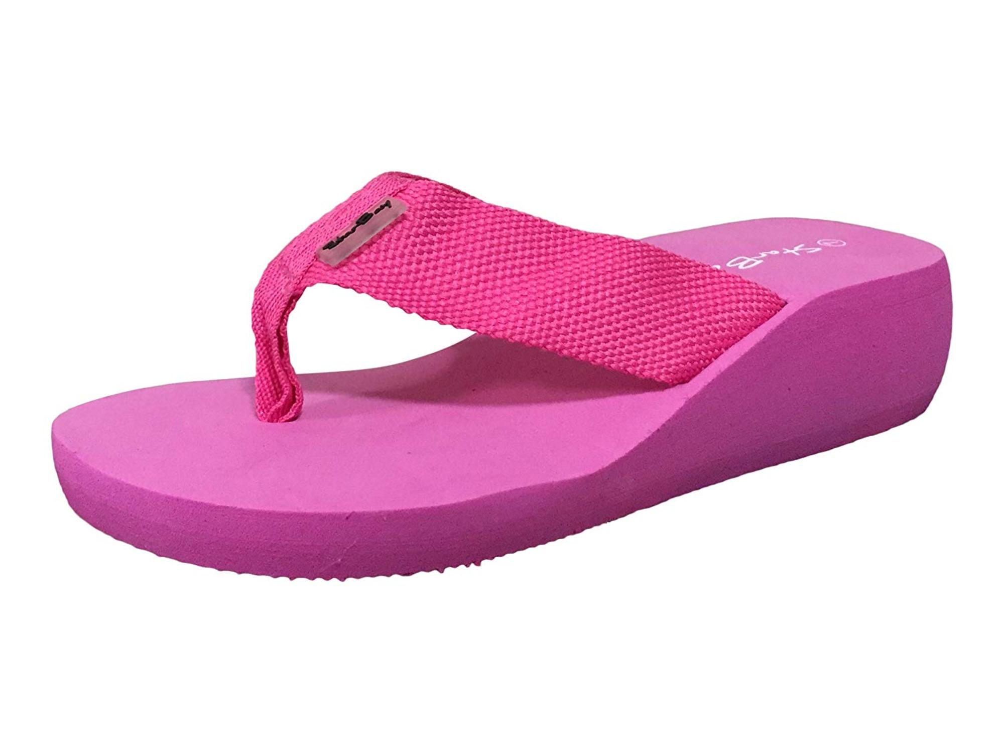 b416f2c02 Starbay Women s Lightweight Canvas Thong Sandal Flip Flops