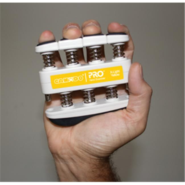 Cando PRO hand exerciser- 3 pounds- x-light- yellow