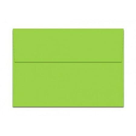 mohawk britehue a7 envelopes lime green 25 per pack walmart com