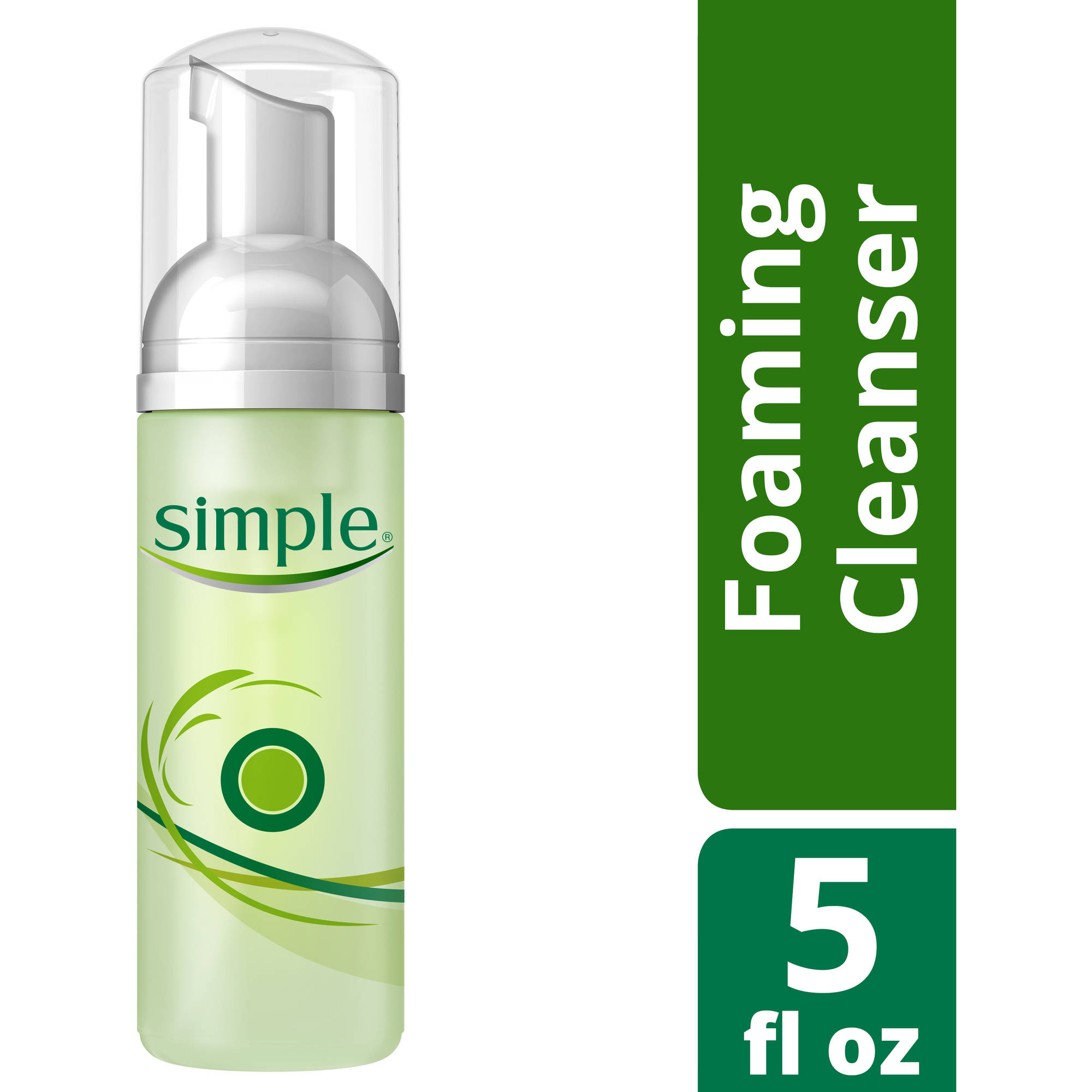 Simple Foaming Facial Cleanser, 5 oz
