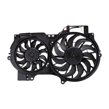TYC 622710 Replacement Cooling Fan Assembly for Audi A6 ()