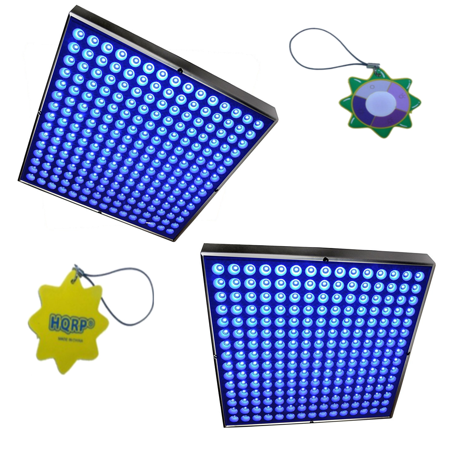 HQRP High-Power 90W Blue 450 LED Grow Light Panels / Lamp...