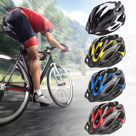 Gonex Cycling Bicycle Helmet - Adult Youth Safety Adjustable Helmet Carbon Hat with Visor Hole