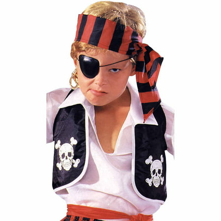Pirate Vest Child Halloween Costume - Delton Products Halloween