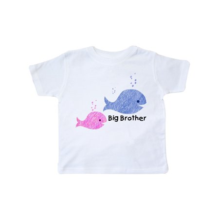 Big Brother with Lil' Sister Toddler T-Shirt (Brother Sister Clothes)