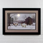 Ohio Wholesale Lighted Matted Winter Coat by Billy Jacobs Framed Photographic Print