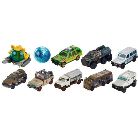 Matchbox Jurassic World Die-cast Vehicle (Styles May - Diecast Matchbox