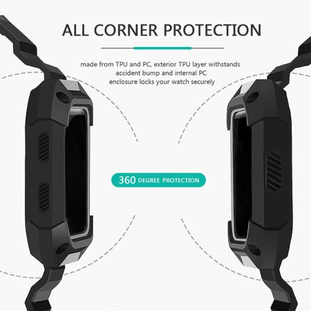 Smart Watch Replacement Strap Large Wristband Watch Band For Fitbit Blaze - image 5 of 10