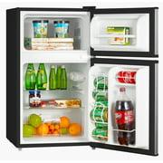refrigerator and freezer. midea 3.1 cubic foot compact refrigerator and freezer image 2 of 3