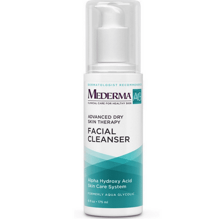 Aqua Glycolic Facial Cleanser, Advanced Cleansing Care 6 oz (Pack of 4)