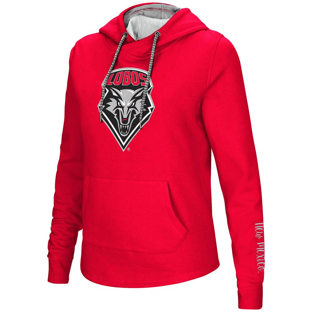 Womens New Mexico Lobos Pull-over Hoodie - M