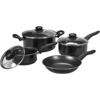 Deals on Mainstays 7-Piece Cookware Set w/Teflon Non-Stick Construction