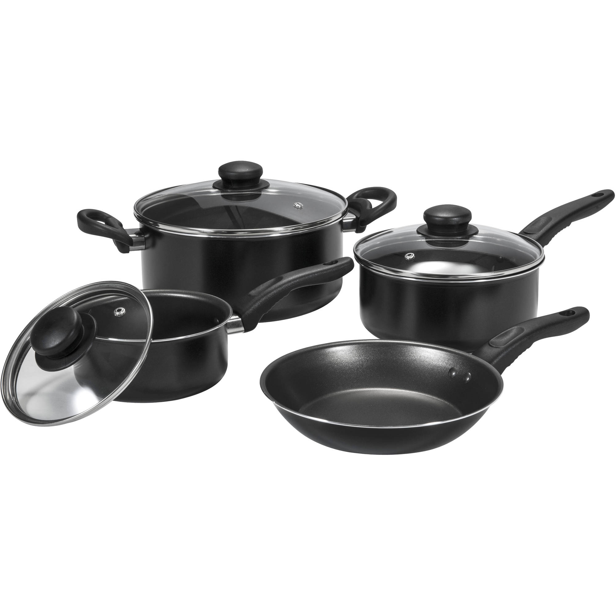 Mainstays Basic Cookware Set, 7-Piece