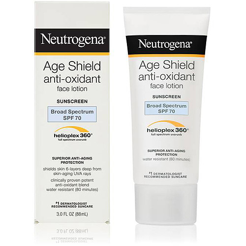 Neutrogena Age Shield Face Lotion Sunscreen Broad Spectrum SPF 70, 3 fl oz
