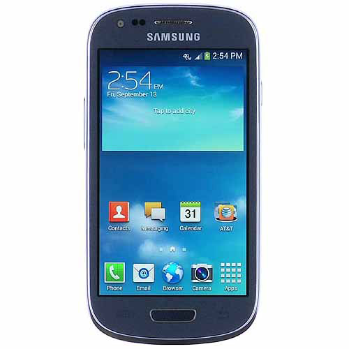 Samsung Galaxy S3 mini G730a AT&T Android Smartphone, Blue