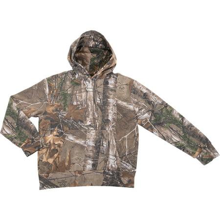 Boy's Camouflage Fleece Hoodie thumbnail