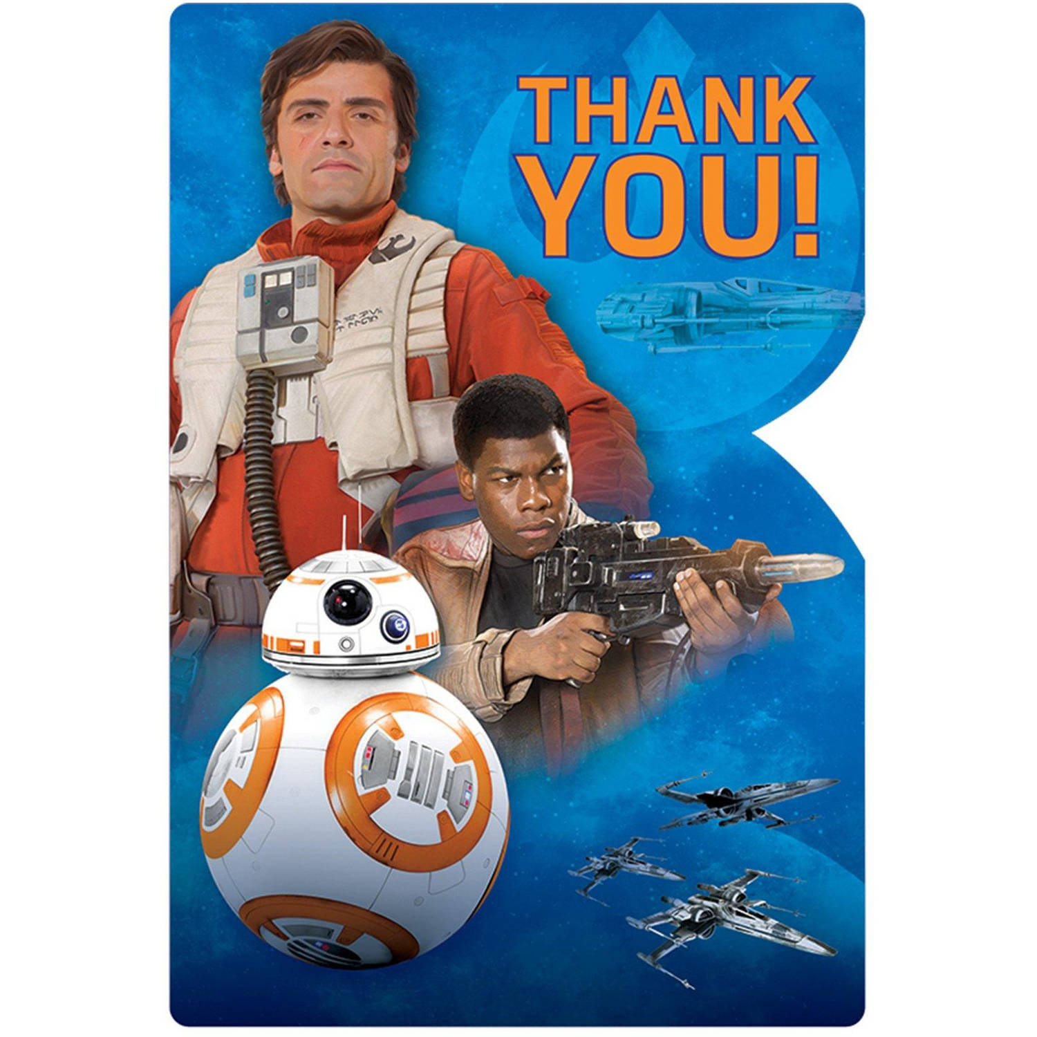 Star Wars Episode VII The Force Awakens Thank You Notes