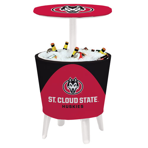 St. Cloud State Huskies Team Logo Four Season Event Cooler Table