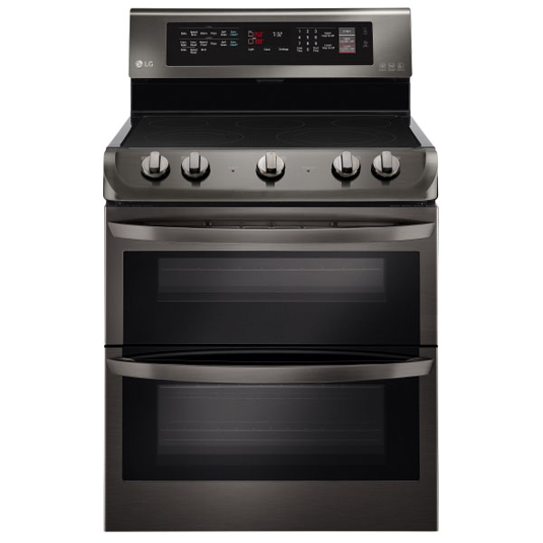LG LDE4413BD 30 Freestanding Electric Double Oven with 7....