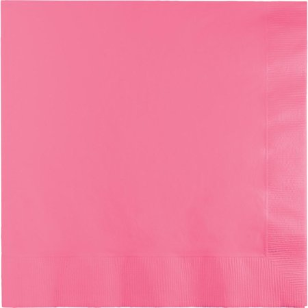 Creative Converting Candy Pink Luncheon Napkin 2Ply, 50 ct