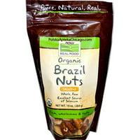 NOW Foods Raw Brazil Nuts, 10 Oz