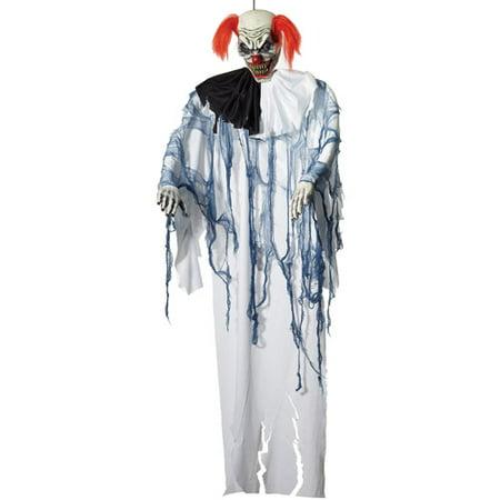 6 Hanging Clown Prop Halloween Decoration - Evil Clown Halloween Prop