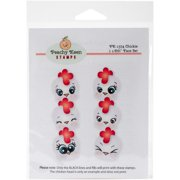 Peachy Keen Stamps Clear Face Assortment 6/pkg-chickie