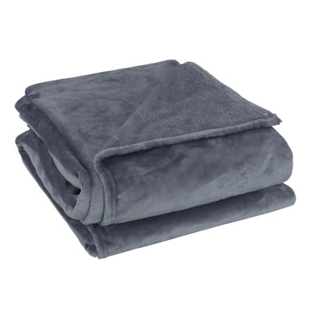 Home Bedroom Soft Microplush Fleece Throw Blanket for Twin/Full/Queen Bed (Bed Throw Blanket)