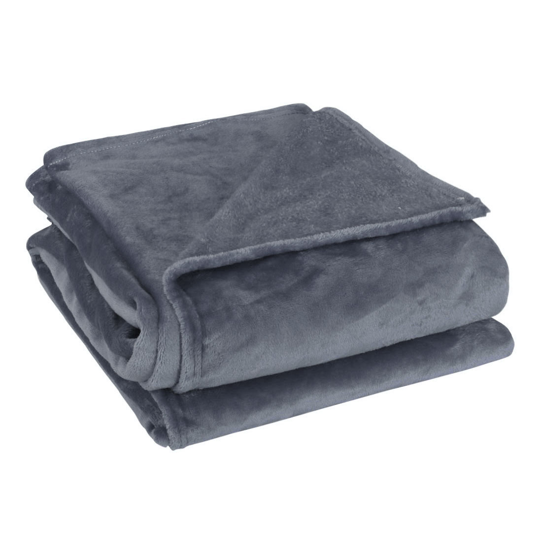 Home Bedroom Soft Microplush Fleece Throw Blanket for Twin/Full/Queen Bed