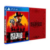 Red Dead Redemption 2 Steelbook Edition, Rockstar Games, PlayStation 4, 710425570476