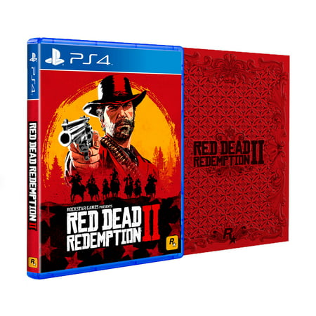 Red Dead Redemption 2 Steelbook Edition, Rockstar Games, PlayStation 4, - Play Halloween Games Online