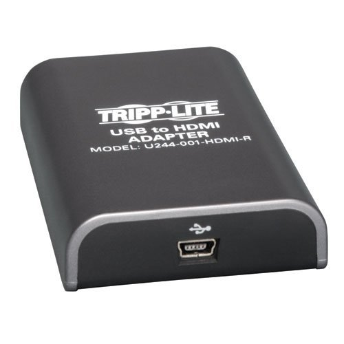 Tripp Lite U244-001-HDMI-R Usb2.0 To Hdmi F/f Display Adap Adapter For Pc Laptop To Hdtv