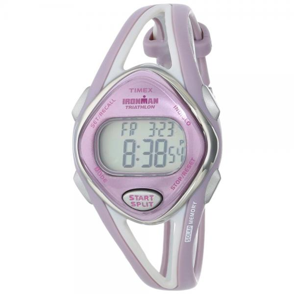 Timex Women's T5K027 Ironman Sleek Sport Watch with Two-T...