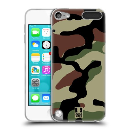 HEAD CASE DESIGNS MILITARY CAMO SOFT GEL CASE FOR APPLE IPOD TOUCH (Case Mp3 Cases)