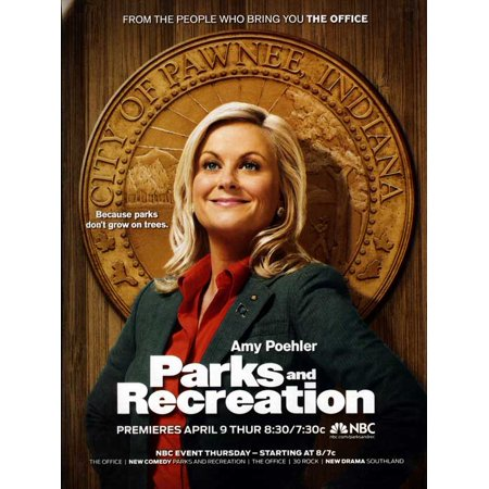 Parks and Recreation (2009) 27x40 TV Poster - Parks And Recreation Halloween Episode