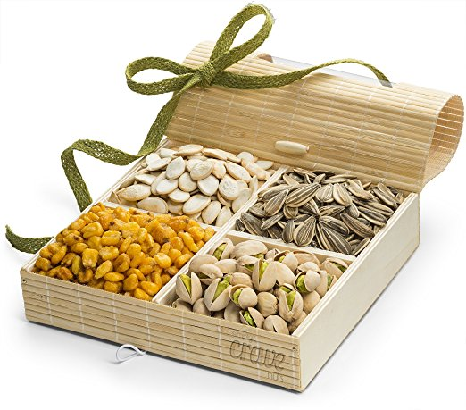 Simply Crave Nut Gift Baskets Gourmet Food Gift Nuts Tray Gift Assortment Nuts u0026 Seeds (Large) - Walmart.com  sc 1 st  Walmart & Simply Crave Nut Gift Baskets Gourmet Food Gift Nuts Tray Gift ...