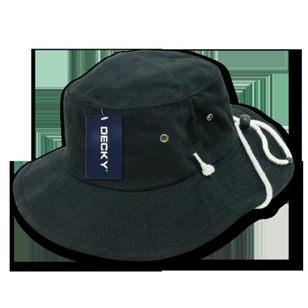 937185e836f Decky Original Aussies Drawstring Boonie Bucket Outback Hat Hats For Men  Women White - Walmart.com
