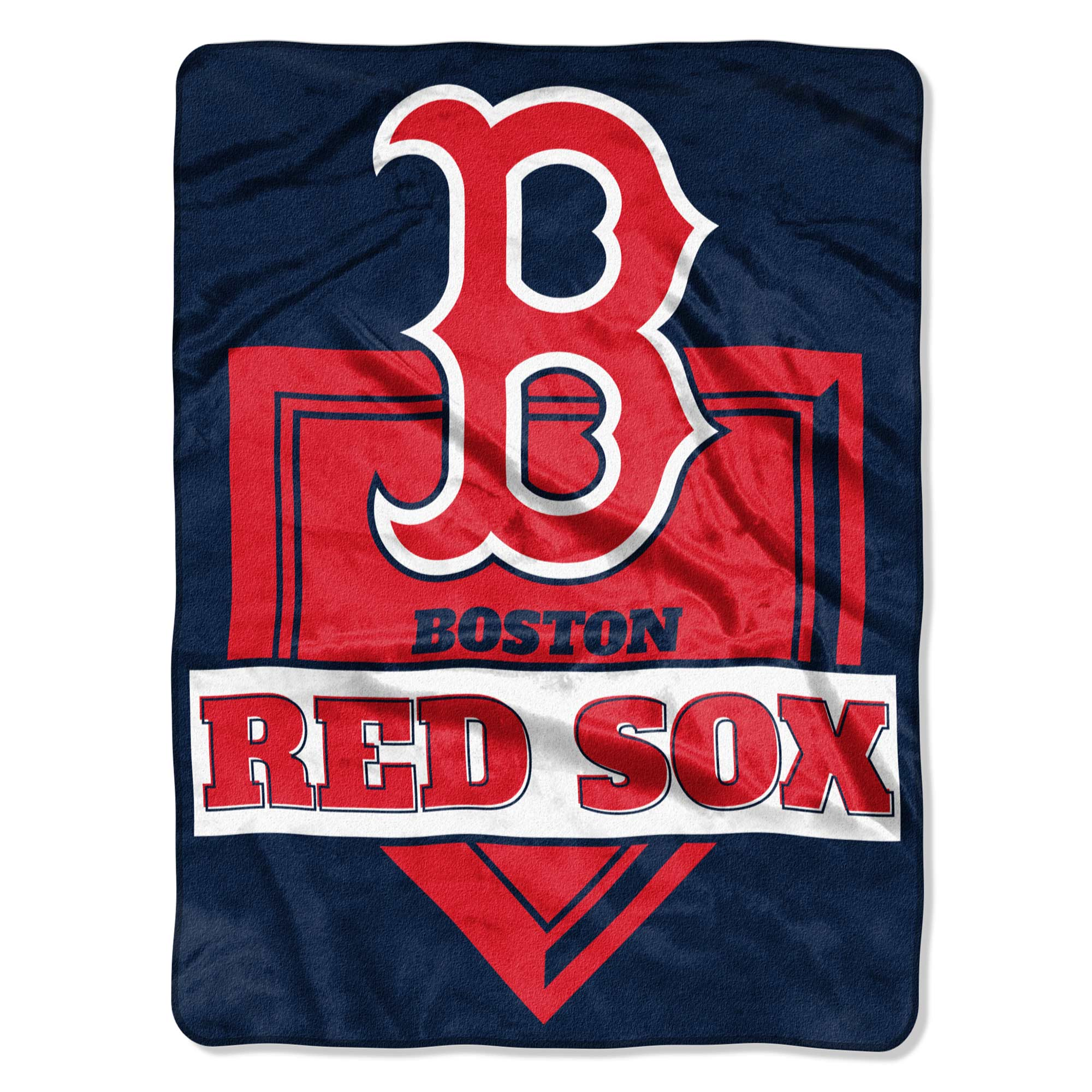 "Boston Red Sox The Northwest Company 60"" x 80"" Home Plate Raschel Plush Blanket - No Size"