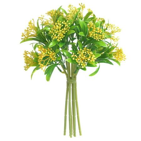 Simulation Siraitia Plastic Flowers And Plants Handmade Craft Decoration Home Decoration Photography Color:yellow - image 1 de 8