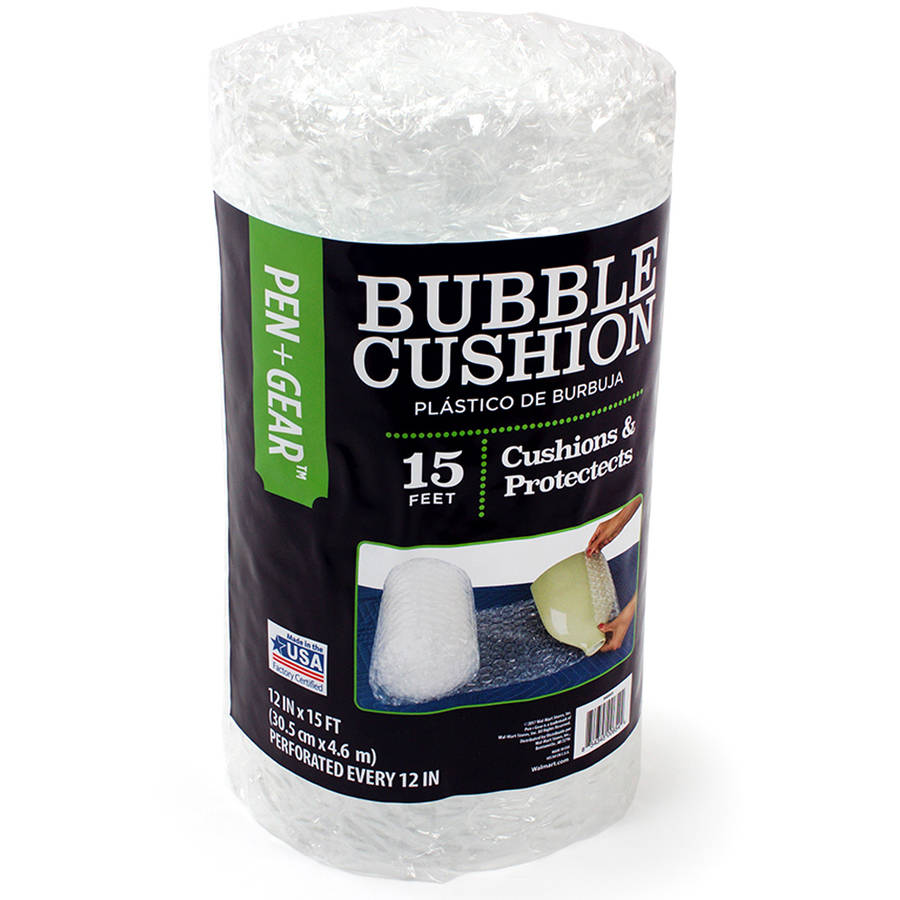 "Pen+Gear 12"" x 15' Bubble Cushion"