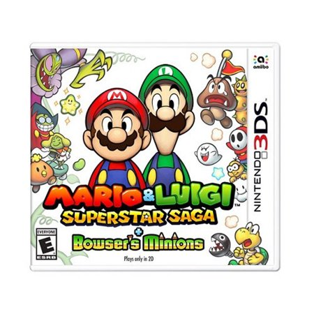 Nintendo 3DS Mario and Luigi Superstar Saga and Bowser's Minions, Release Date: