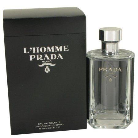 L'Homme Prada by Prada, 3.4 oz EDT Spray for Men