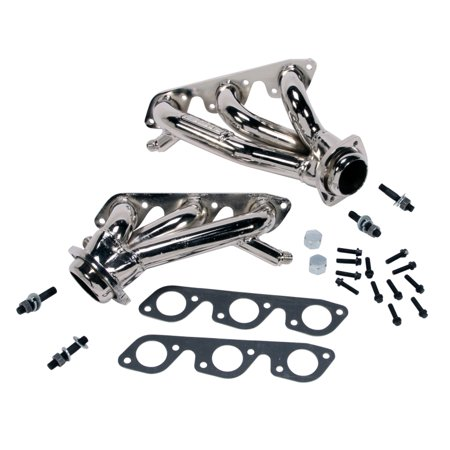 BBK PERFORMANCE 4008 99-04 FORD MUSTANG 3.8L-V6 1-5/8IN SHORTY TUNED LENGTH EXHAUST HEADERS (CHROME)