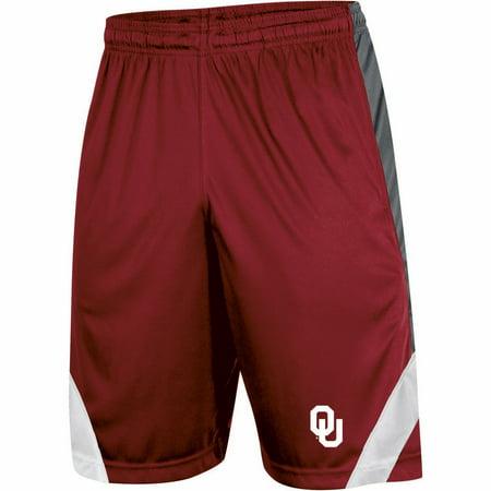 Youth Russell Crimson Oklahoma Sooners Training Shorts